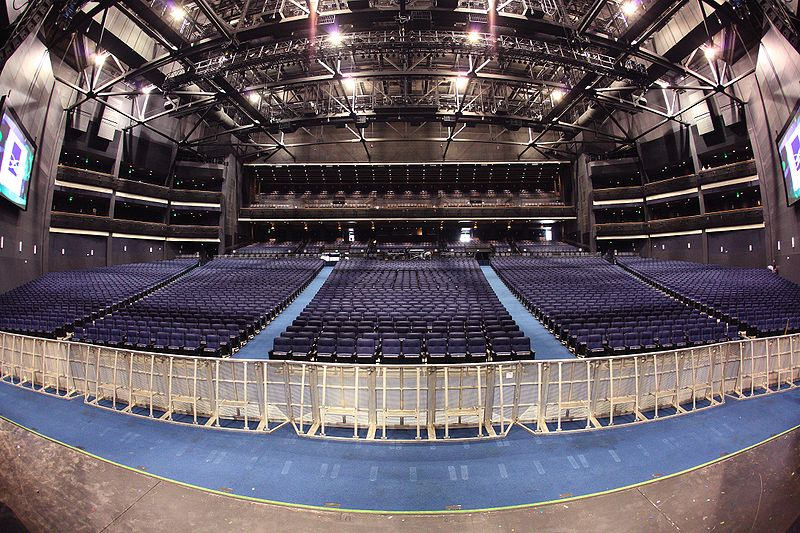 Nokia theater stage and seating charts