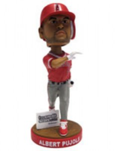 Albert Pujols Bobblehead Night Angel Stadium