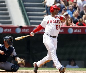 Bobby Abreu Los Angeles Angels