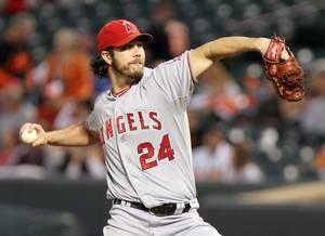 Daniel Haren Los Angelesa Angels