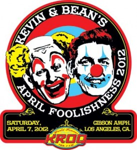 Kevin & Bean's April Foolishness Tickets.