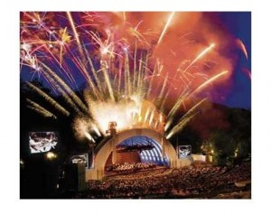 Opening Night at the Hollywood Bowl