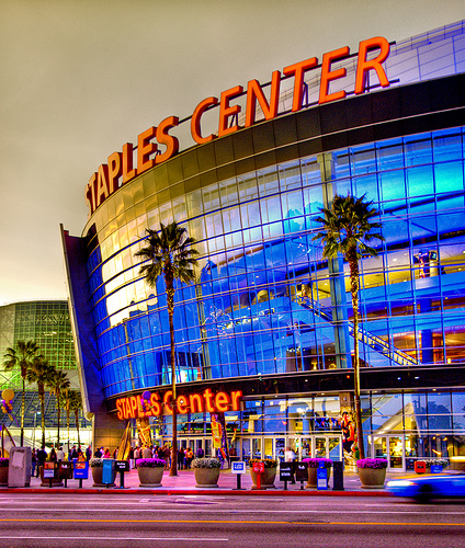 Busiest 4 Days In The History Of STAPLES Center And L A LIVE