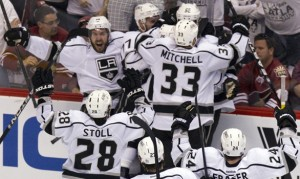 Kings on way to Stanley Cup