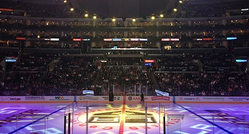 Best place to sit at a LA Kings Staples