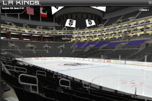 Staples Center Sec 108