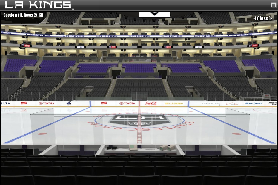 Pros Cons Seating Staples Center Los Angeles Kings Game