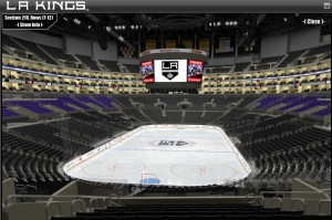 Staples Center Sec 216