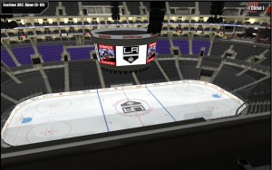 Staples Center Sec 302