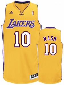 Steve Nash LA Lakers Jersey