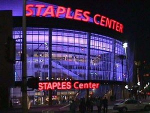 Downtown Los Angeles Staples Center