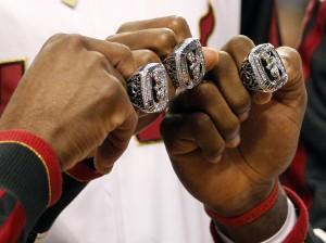 Heat Championship Rings