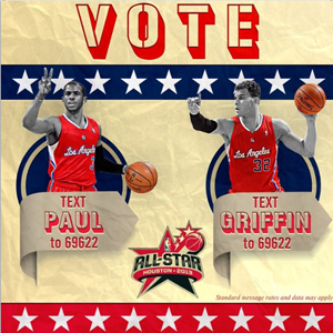 Vote for Griffin and Paul for NBA Allstar game