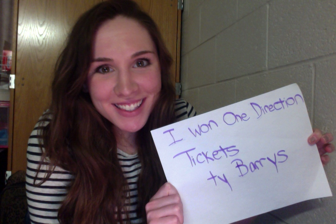 Win One Direction Tickets