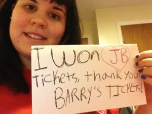 Win Justin Bieber Tickets