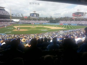 Ducks Vs Kings at Dodger Stadium