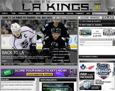 LA Kings Tickets Staples Center