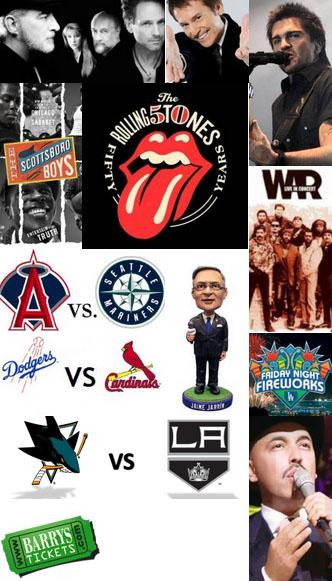 Events Around Los Angeles.