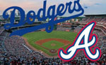 LA Dodgers face the Atlanta Braves