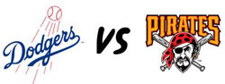 LA Dodgers Vs Pittsburgh Pirates
