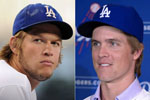 LA Dodgers pitchers Kershaw and Greinke