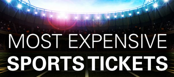 Most expensive tickets for a sporting event.