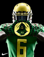 Undefeated Oregon Ducks
