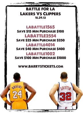 Lakers VS Clippers Battle For LA