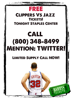 Free Clippers Tickets