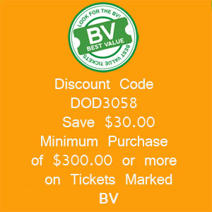 Save $30.00 on Dodgers Tickets