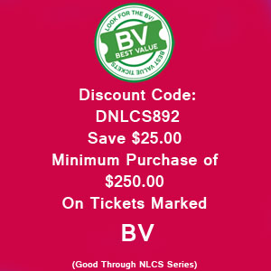 Save $25.00 NLCS Tickets