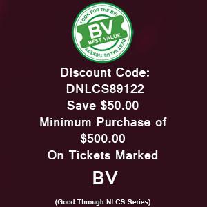 Discount Code Dodgers $50.00
