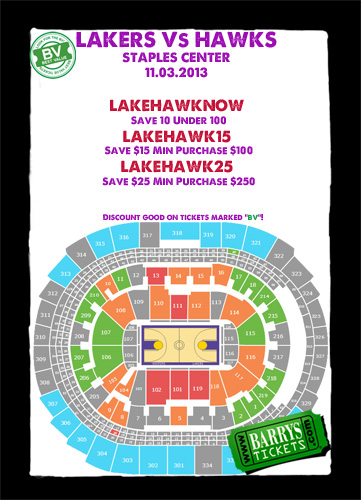 Hawks Vs LA Lakers