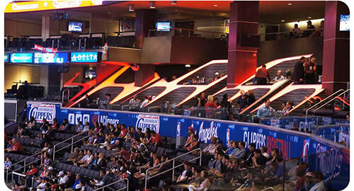 What Are The San Manuel Tables At The Staples Center