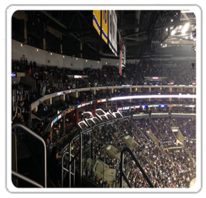 Staples Center San Manuel Tables