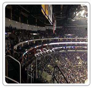 Staples Center San Manuel Tables
