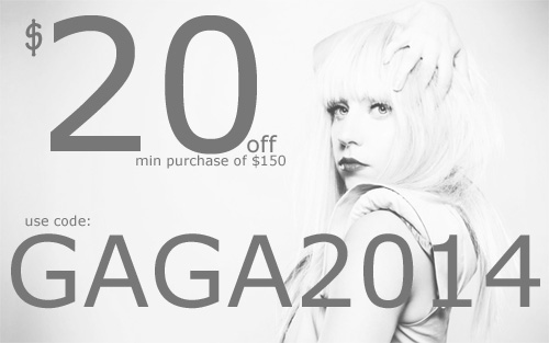 Lady Gaga Tickets Promo Code