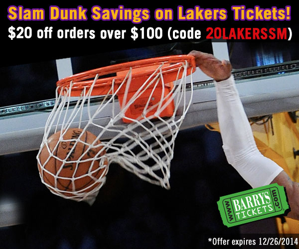 Lakers Discount Code