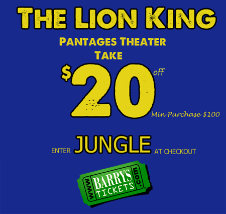 Lion King Tickets Discount
