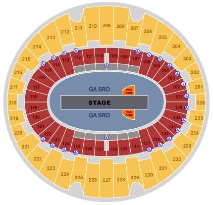 U2 Concert Seating Chart