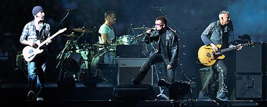 U2 Setlist 2015 concert