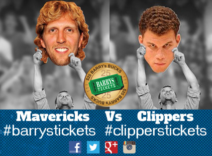Mavericks Vs Clippers Tickets