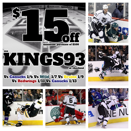 Kings Five Game Homestand Tickets Discount