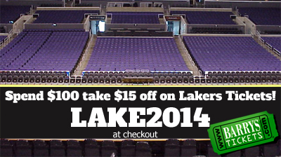 Discount Code For Lakers Tickets