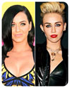 Miley Cyrus & Katy Perry