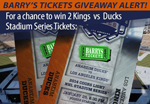 Chance to win Stadium Series Tickets