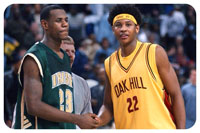 Melo with Lebron 2014
