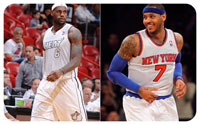 Melo going to the Heat