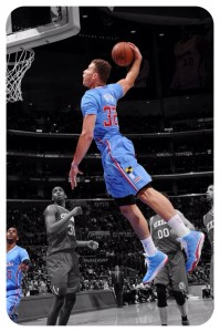 Blake Griffin has monster Dunks