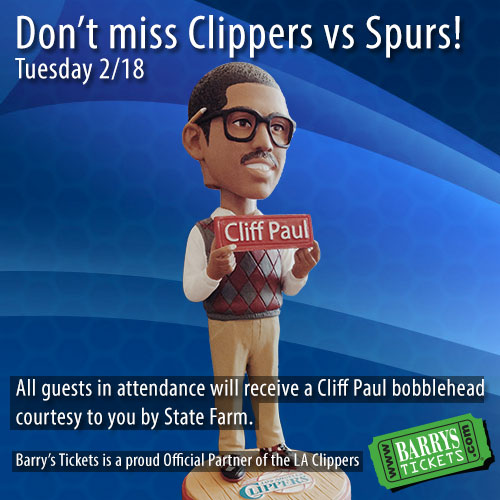 Cliff Paul Tickets Clippers Spurs